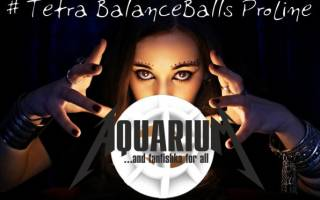 Тетра и ее волшебные шарики Tetra balanceballs proline.