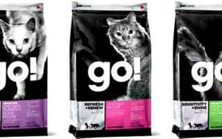 Корм для кошек и котят Go! (Гоу) natural holistic: состав, виды, анализ