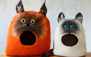 Домик для кошки своими руками: 17 идей и их воплощение